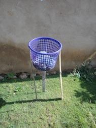 Mülleimer in Tafi